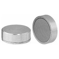 Flat magnet without thread  Neodymium