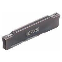 Stechdrehplatte mittlere Bearbeitung HB7020