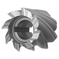 Shell end mill N uncoated