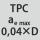 Eingriffsbreite a<sub>e</sub> bei Fräsoperation 0,04×D