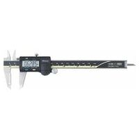 Digital caliper with AOS system and mm / inch selection