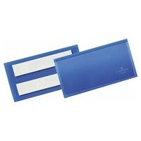 Self-adhesive identification pockets Pack of 50