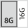 Füllgrad einer Schublade inG 8×16