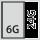Fyldningsgrad for en skuffe i G 6×24
