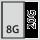 Fyldningsgrad for en skuffe i G 8×20