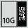 Fyldningsgrad for en skuffe i G 10×24