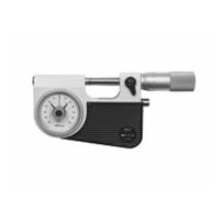 Micrometer with dial comparator