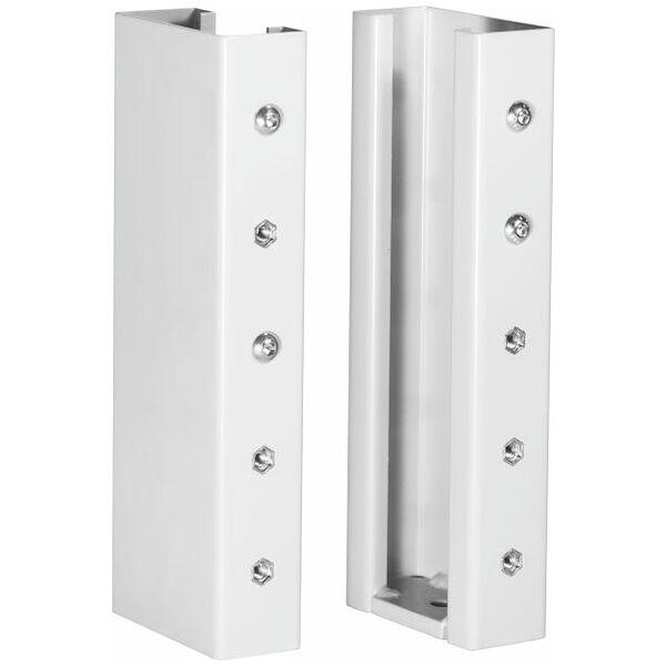 Manual height adjustment  150 mm