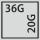 Schubladen Nutzfläche in G 36×20