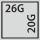 Schubladen Nutzfläche in G 26×20