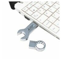 Combination spanner USB stick