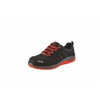 Chaussures basses noires-rouges MADDOX black-red Low ESD, S3