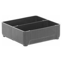 ESD small parts storage bin  black