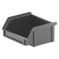 ESD PP open storage bin, single  black