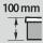 kleinste geeignete Schubladen-Fronthöhe 100