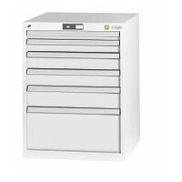 ESD tool cabinet complete with drawers  20×24G