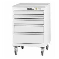 ESD roller cabinet complete with drawers wheeled 20×24G