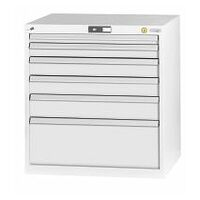 ESD tool cabinet complete with drawers  26×24G