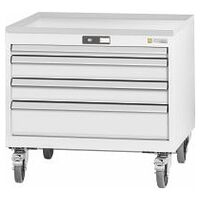 ESD roller cabinet complete with drawers wheeled 26×24G