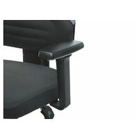 Pair of multi-function ESD armrests, height adjustable, for Work-Tec