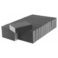 Set de blocuri abrazive, 24 buc. dur 100×68×26 mm