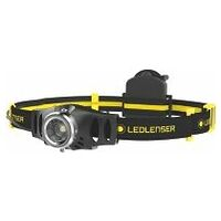 LED headlamp with battery