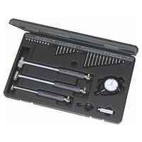 Precision bore gauge set with dial indicator