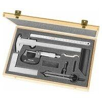 Measuring tool set, 6 pieces