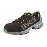 Chaussures basses noires/jaunes uvex 1, S1