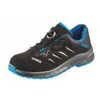 Chaussures basses noires/bleues uvex 2 trend, S1P BOA