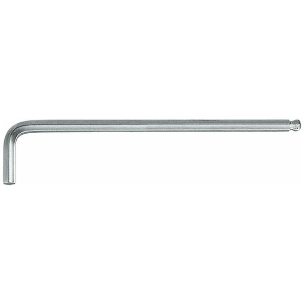 Hexagon key L-wrench, long chrome-plated