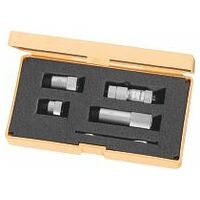 Internal micrometer set