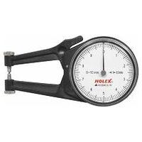 External quick caliper with dial gauge