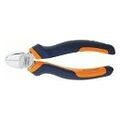 Diagonal side cutter chrome-plated, with grips  160 mm