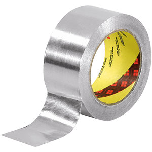 Aluminium adhesive tapes