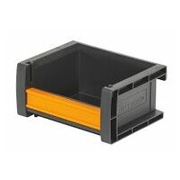 Open storage bin  anthracite