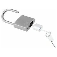 Precision cylinder lock without lock barrel