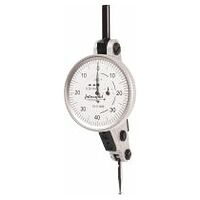 Interapid lever dial indicator with inclined dial