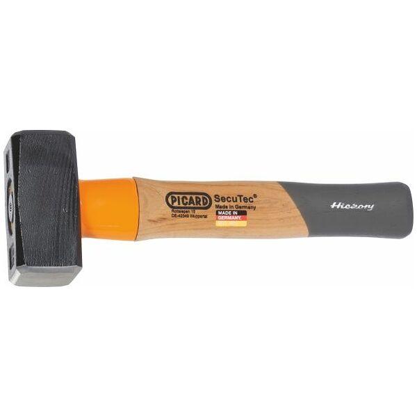 Smedehammer SecuTec® med skaftbeskyttelseskappe