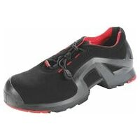 Chaussures basses noires/rouges uvex 1 x-tended support, S3