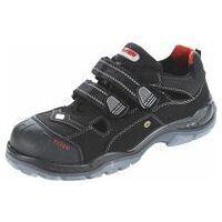 Sandals, black/red SCOTT PRO ESD, S1P