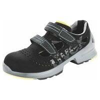 Sandales noires/jaunes uvex 1, S1