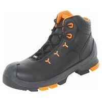 Chaussures hautes à lacets noires/oranges uvex 2, S3