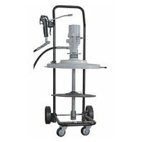 Mobile compressed air lubrication unit