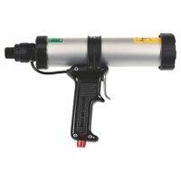 Compressed-air cartridge gun
