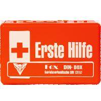 Verbandskästen / -Schränke