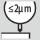 Rundløbsnøjagtighed ≤ 2