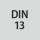 Gevindstandard DIN 13