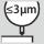 Rundløbsnøjagtighed ≤ 3