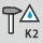 Slagfast og stænkvandsbeskyttet Kategori 2 (K2) iht. BGI
